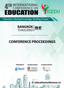 Education Conference 2018 - Conference Proceedings
