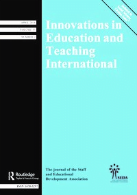 Innovations in Education and Teaching International - Journal Update- tiikm education conference