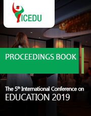 ICEDU Publications -The International Conference on Education 2019