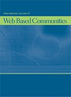International Journal of Web Based Communities